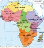 afrika topográfia térkép Afrika topográfiája afrika topográfia térkép
