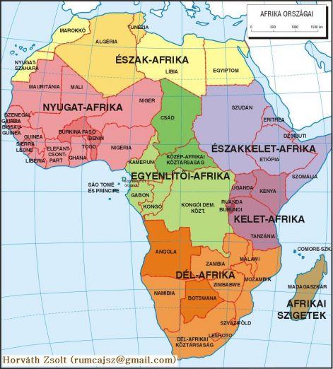 afrika országai térkép Afrika országai afrika országai térkép